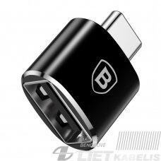 Adapteris USB C kištukas - USB A lizdas, su OTG funkcija BASEUS