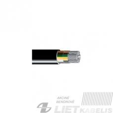 Aliumininis jėgos kabelis su XLPE izoliacija AXMK/YAKXS 5x16mm²