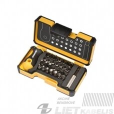 Antgalių, atsuktuvų komplektas 30 vnt. 2073006, Forte tools