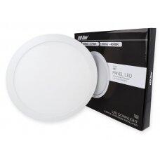 Apvalus LED šviestuvas (universalus) 24W, 2700K, 2200lm, LEDline