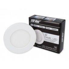 Apvalus LED šviestuvas (universalus) 6W, 4000K, 470lm, LEDline