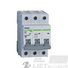 Automatinis jungiklis EX9BN/ B16/3 Noark