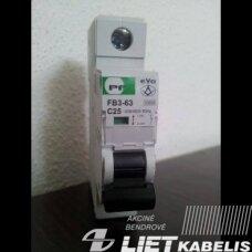 Automatinis jungiklis FB3-63 C32/1 10kA PF