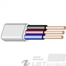Behalogeninis instaliacinis kabelis BZZ-P 3x2,5 DCA (1m)