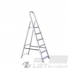Buitinės kopėčios 6 pakopų CXT06C/06,  HausHalt