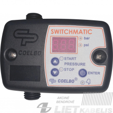 Elektroninė slėgio relė Switchmatic 1