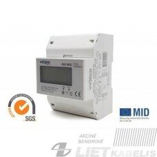 Elektroninis skaitiklis, 3f ES3100D 0,5-100A LCD VEXEN