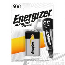 Elementas 6LR61 9V šarm.Energizer