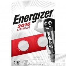Elementas (diskas) ličio CR2016 3V Energizer
