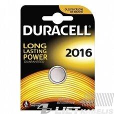 Elementas (diskinis), CR2016 3V Duracell
