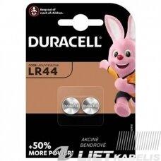 Elementas (diskinis), LR44 AG13 Duracell
