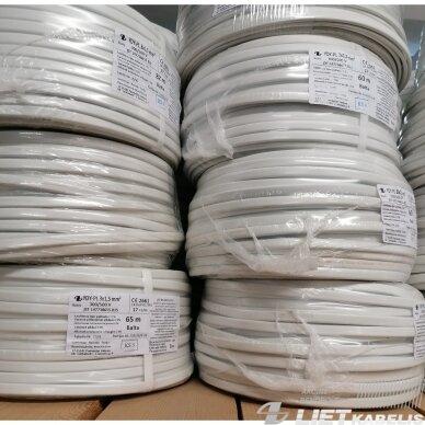 Elektros instaliacijos kabelis, monolitas, plokščias BVV-P 3x1,5mm² (1 m) nestandartinio ilgio 3