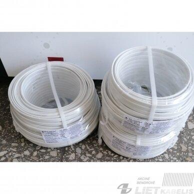 Elektros instaliacijos kabelis, monolitas, plokščias BVV-P 3x2,5mm² (1 m) Nestandartinio ilgio 2