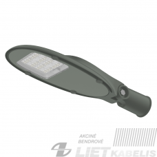 Gatvės šviestuvas  LED  Munich 60W , 4000K , 7800Lm,  IP66,  Eurolight