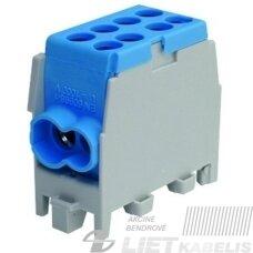 Gnybtas 25mm2 Cu/Al  4 prijungimai (2x25/2x16) PHLAK2522BL mėlynas, PROTEC