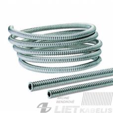 Gofruotas vamzdis, plieninis  26/30.50mm PVC (1 m)