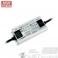 Impulsinis maitinimo šaltinis  LED 24V 3,1A XLG-75-24  IP67, MEAN WELL