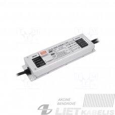 Impulsinis maitinimo šaltinis LED 24V, 8.4A, 200W, reguliuojamas  PFC, IP67, Mean Well