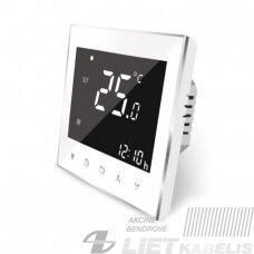 Išmanusis termostatas su WIFI TR2000, 5A, SPRING