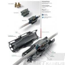 Gelinė jungtis, Fred  3x2,5mm² IP68 Raytech