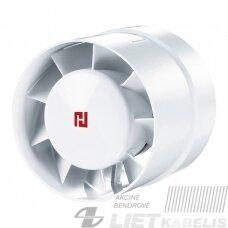 Kanalinis ventiliatorius D125mm 16W 185m3/h Haushalt