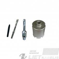 Deimantinė gręžimo karūna D82 L85mm DCD, Powerlink