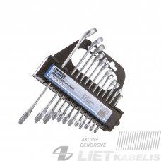 Kombinuotų raktų rinkinys 6-22mm CR-V, Vagner