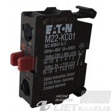 Kontaktas M22-KC01 1NO Eaton