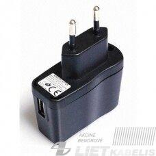 Kroviklis AC100-240V DC5V 2.4A USB