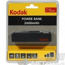 Kroviklis Power bank 2600mAh, Kodak
