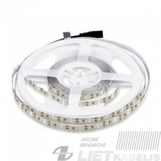 LED juosta 24V 22W/m, 3000K, 100lm, IP20, PLUS AKTO