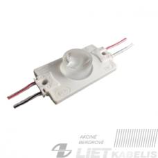LED juostos modulis DS20 2W, 7000K, 200Lm, 12V, IP65, Kaisen (1vnt)