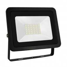 LED prožektorius 10W, 4000K, (juodas) IP65 , SPECTRUM LED