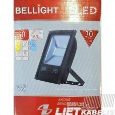 LED prožektorius 30W, 4500K, 2400Lm, IP65, Bellight