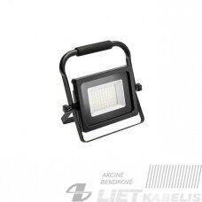 LED prožektorius 30W, 6400K, 2400lm, IP65, GTV