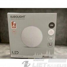 LED šviestuvas 18W, 4000K IP65, su judesio davikliu, Eurolight Hamburg