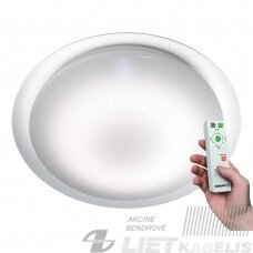 LED Šviestuvas Silara Tray Sparkle 580, apvalus, 35W, 2700K-6500K, 2000Lm, Osram