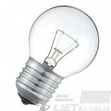 Lempa burbulo formos PS45 25W E14 Iskra