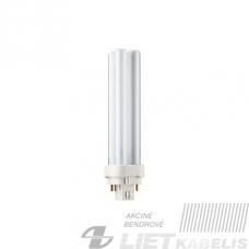 Lempa kompaktinė 18W/830, G24g-2, 4P, Philips