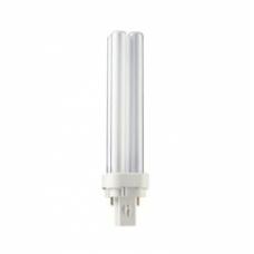 Lempa kompaktinė PL-C 18W/830, 2P, G24d2, Philips