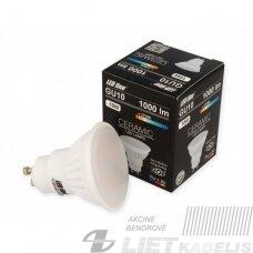 Lempa LED 10W, GU10, 1000lm, 2700K, keramikinė, LEDline