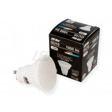 Lempa LED 10W, GU10, 1000lm, 4000K, keramikinė, LEDline