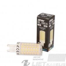 Lempa LED 12W, G9, 230V, 1080lm, 2700K, keramikinė, LEDline