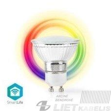 Lempa LED 6,5W, GU10, 2200-6500K+RGB, 345Lm,