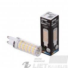 Lempa LED 8W, G9, 230V, 750lm, 4000K, keramikinė, LEDline