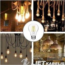 Lempa LED STEP CCT filamentinė 7W, E27, 2700-6500K, 810Lm, Kanlux