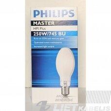 Lempa metalo-halogeno, HQI/HPI plus, 250W/745, BU E40