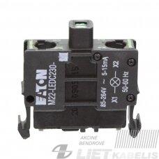 Lemputė M22-LEDC230-G(85-264V žalia)