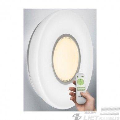 LED šviestuvas SILARA DUO apvalus su nuotolinio valdymo pulteliu, 30 W, 3000-6500K, 2700lm, IP20, Osram 2