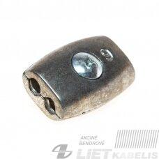 Lyno suspaudiklis 4mm plokščias (pilnas)
